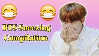 BTS Sneezing Compilation