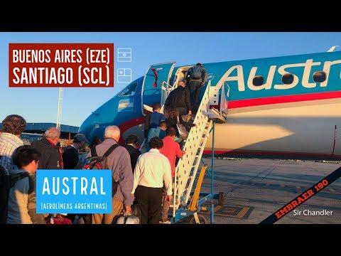 Buenos Aires (ARG) - Santiago (CHI) - Aerolíneas Argentinas