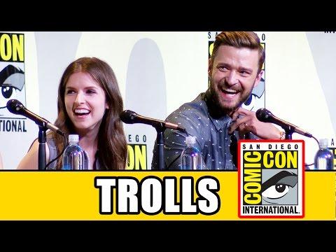 TROLLS Comic Con Panel - Anna Kendrick & Justin Timberlake Mp3