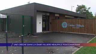 Yvelines | Une crèche dans la gare Villiers Neauphle Pontchartrain