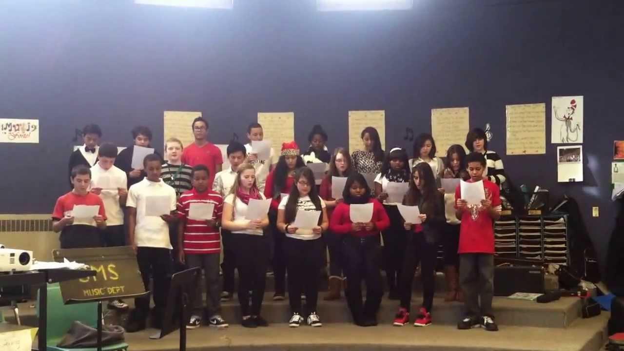 Sullivan Middle School and The Gettysburg Address - YouTube