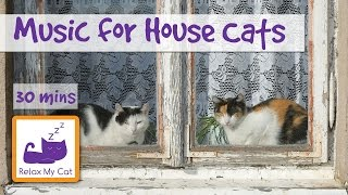 Music for Indoor Cats, House Cat Music, Music to Relax House Cats, Cats in Flats, Relax My ...