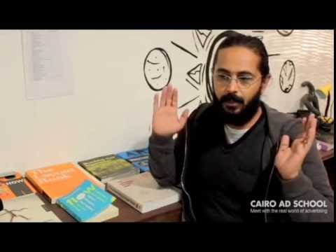 Cairo Ad School student review / Amr - Art director