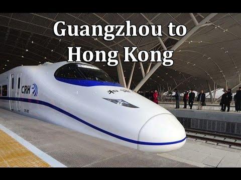 how to go from guangzhou to hong kong