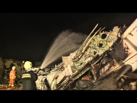 At least 42 killed in Taiwan plane crash