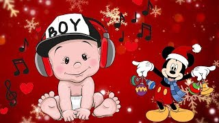 Relaxing Music Guitar | Baby Brain Development - Lullaby For Babies - Christmas Songs