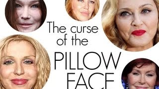 SHOCKING!!!! CELEBRITY PILLOW FACE!!!!