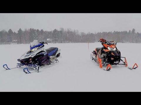 Yamaha Sidewinder Turbo vs. Yamaha Apex