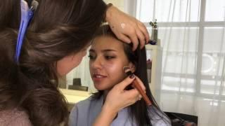 видео Макияж для карих глаз смуглой кожи брюнетки