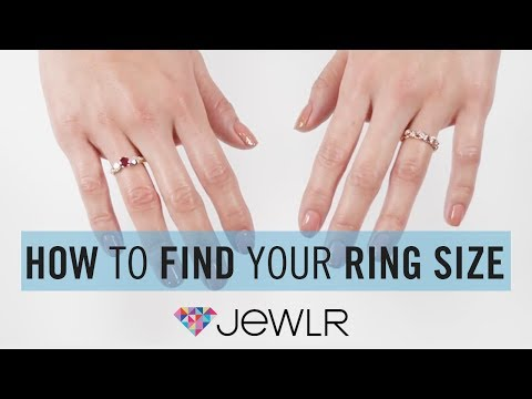 Jewlr | How To Measure Ring Size
