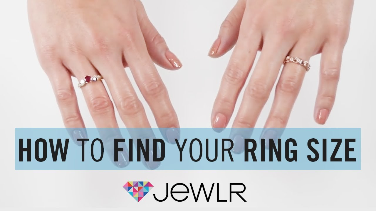 Jewlr | How to Measure Ring Size - YouTube