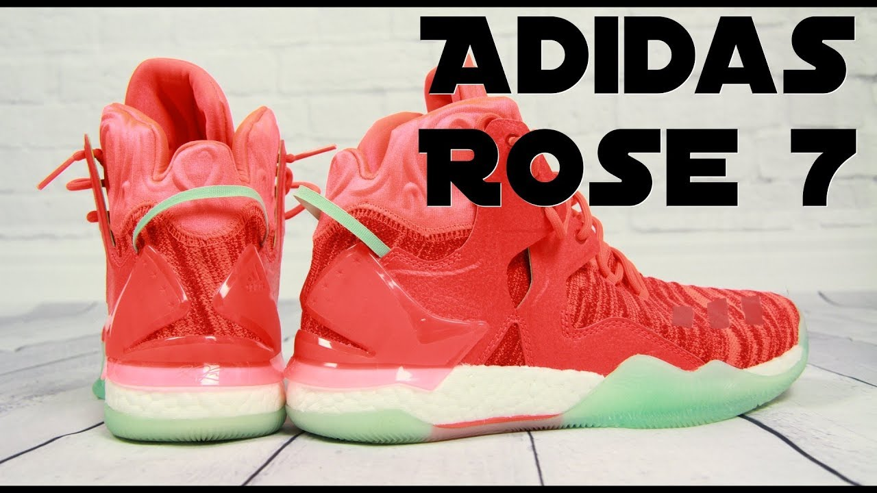72a1c6b1fccd Adidas D Rose 7 Primeknit - Performance Review - YouTube