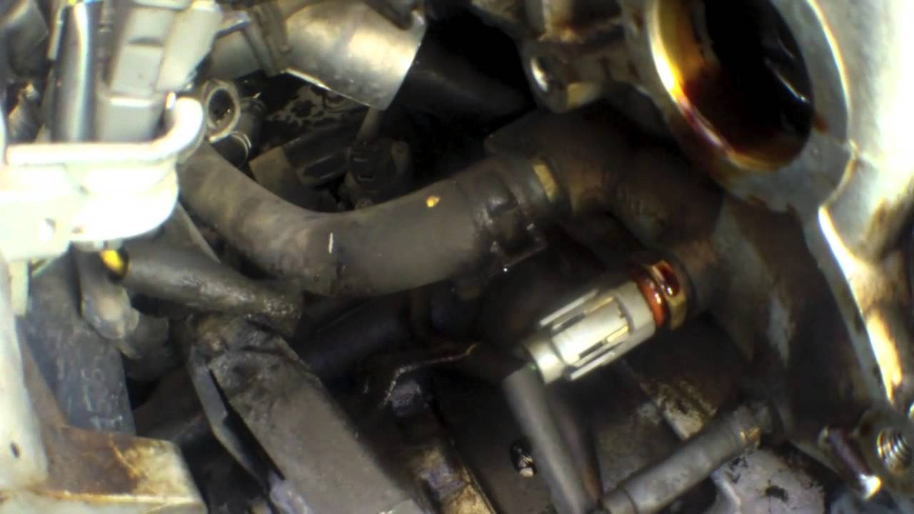 leaky heater core hose replacement honda accord youtube rh youtube com 1993 honda accord heater hose diagram 1996 honda civic heater hose diagram