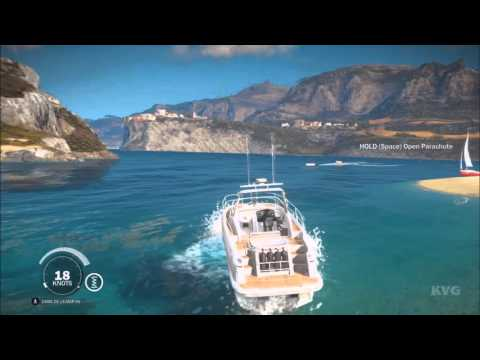 Just Cause 3 - All Sea Vehicles Shown (PC HD) [1080p60FPS]