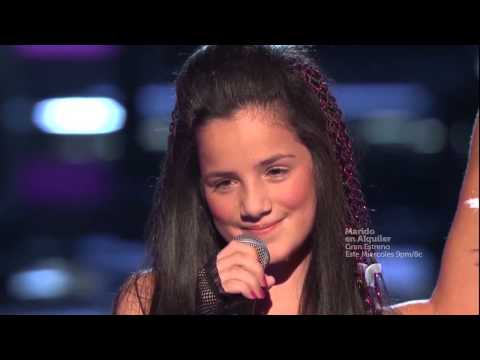 """Kim Lozano canta """"Que te quería"""" en """"La Voz Kids"""""""