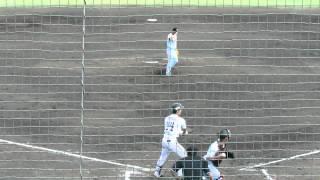 20150620 巨人・大竹寛、二軍戦での投球(6回) イースタンリーグ vs埼...