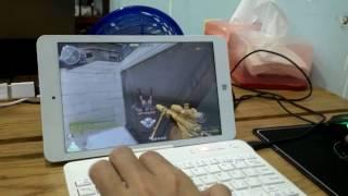 Chơi Đột Kích 2.0 (CF 2.0) trên Tablet Chuwi Hi8 Pro! Windows 10 Home 64bit.
