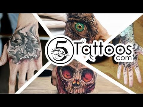 Top 60 Cool Hand Tattoos for men - YouTube