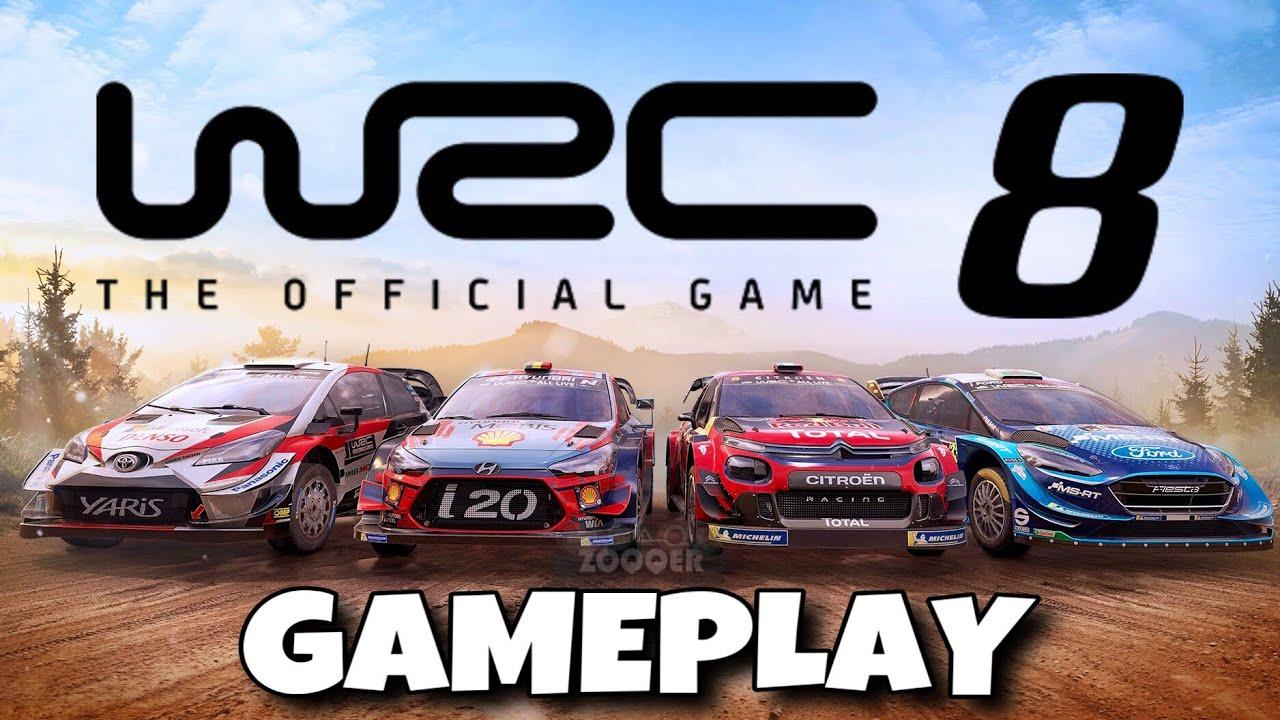 DAS IST WRC 8 FIA World Rally Championship 2019 GAMEPLAY