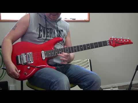 Ibanez JS2480 Improvised Demo