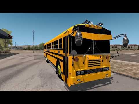 Blue Bird School Bus/ATS|American Truck Simulator