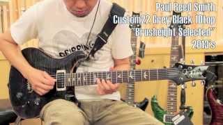 【Brusheight】Paul Reed Smith  Custom22 Grey Black 10top  2013's  【売約済】