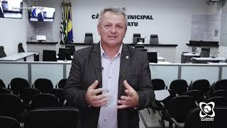 Sargento Laudo faz homenagens e cobra regulamentação da lei dos fogos de artifício