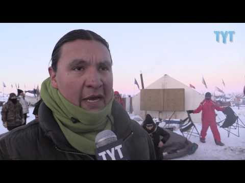 Chase Iron Eyes On Birth Of New Standing Rock Sacred Fire