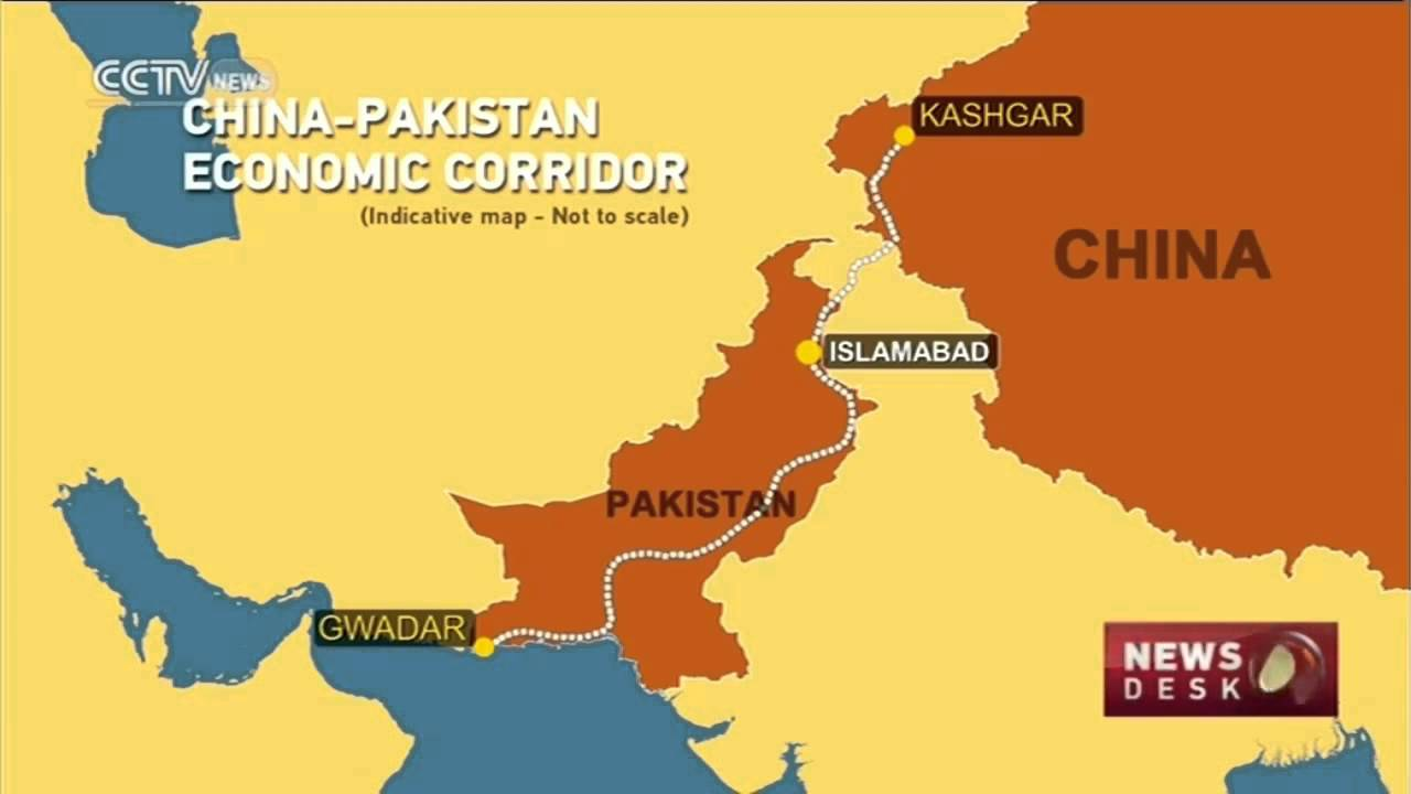 Show Map Of China.Chinese Television Shows Pak China Corridor Map Youtube