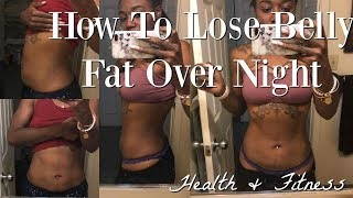How To Lose Belly Fat Overnight/w Vicks VaporRub (NOT CLICKBAIT)// Health & Fitness