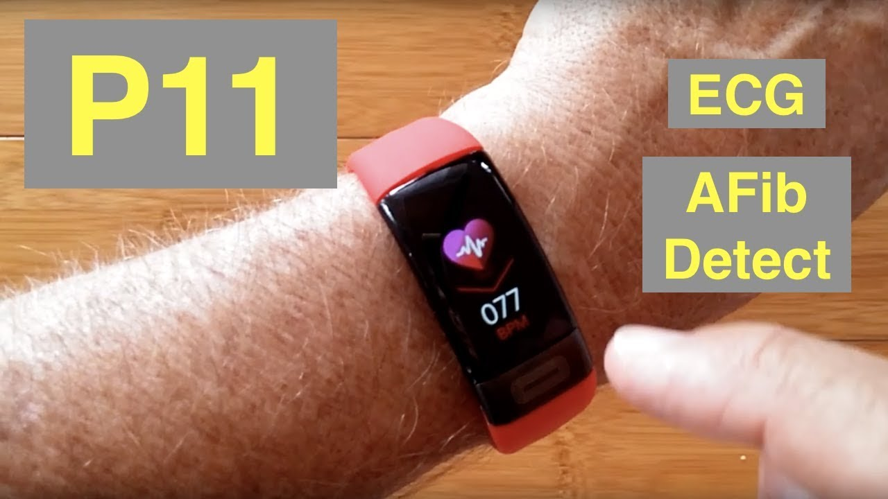 Bakeey P11 Atrial Fibrillation ECG IP67 Waterproof Health Fitness Band: Unboxing and 1st Look