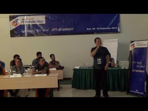 Presentasi IT Forum 2016 Putra