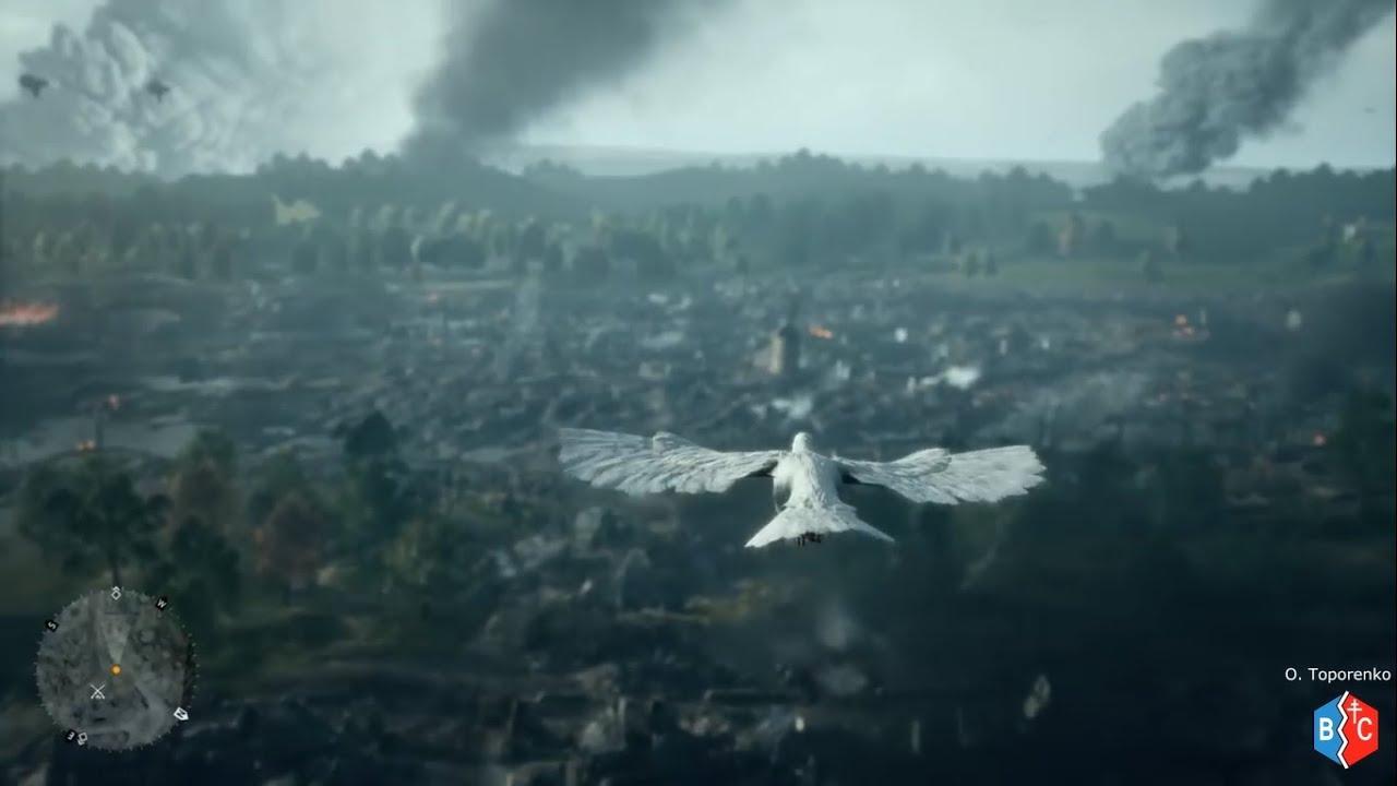 Sabaton + Emotional Pigeon Scene - The Hammer Has Fallen - BATTLEFIELD 1 Through Mud and Blood GMV