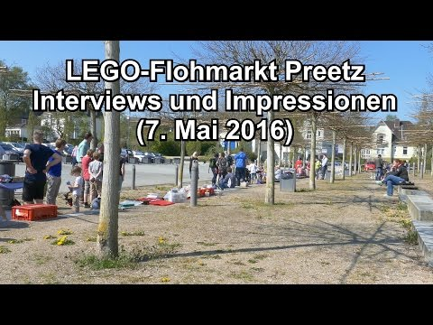LEGO-Flohmarkt in Preetz am 7. Mai 2016 (Interviews und Impressionen)