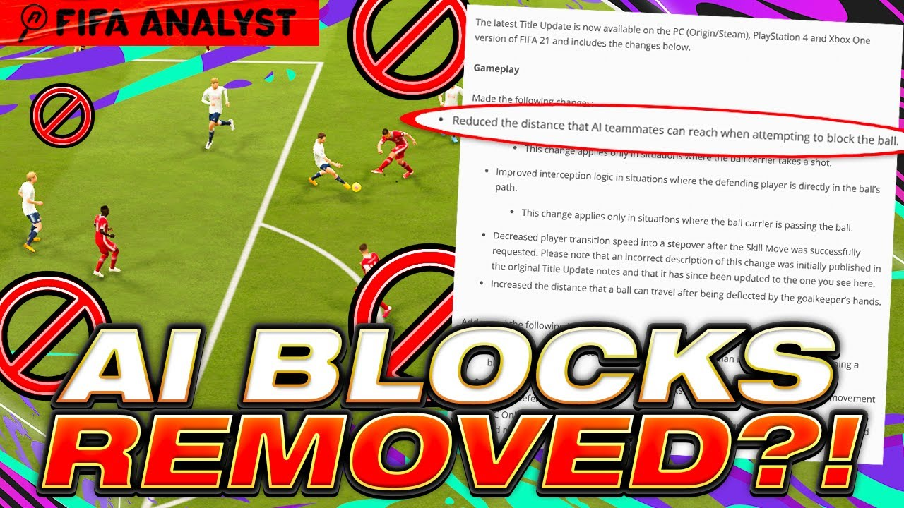 FIFA 21 AI BLOCKS |   | ARE AI BLOCKS REALLY GONE?? | FIFA21 PATCH UPDATE