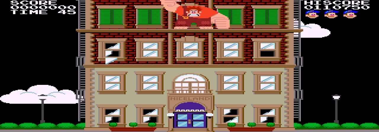 Let's Try: Fix-it Felix Jr  (Sega Genesis ROM Hack)