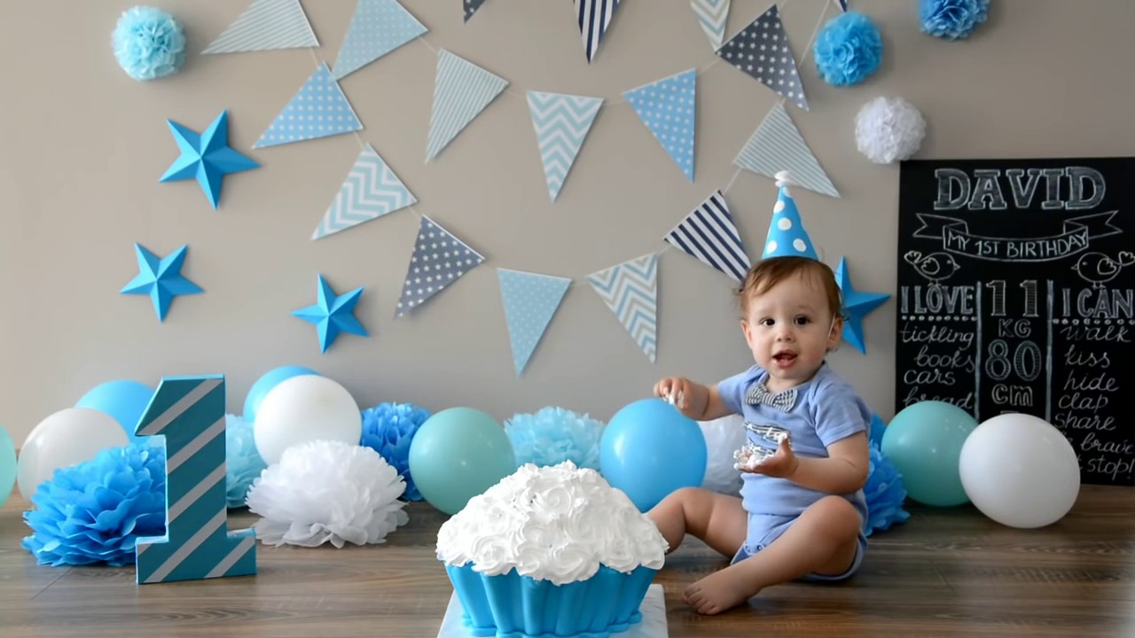 diy baby birthday idea for first birthday party celebration