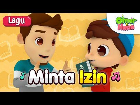 Omar & Hana | Lagu Kanak Kanak Islam | Minta Izin