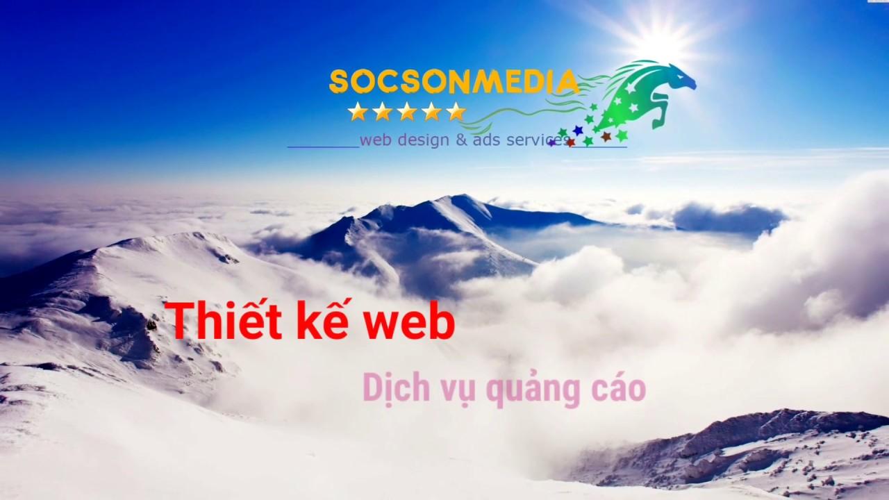 Sóc Sơn Media – Thiết kế web và Chạy quảng cáo