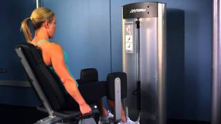 Life Fitness Optima Series Hip Abductor Adductor Instructions