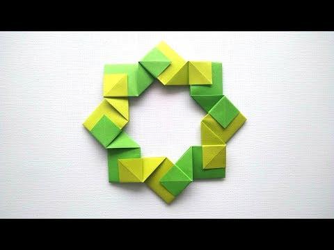 Origami decor by Rita Foelker - Origami Tutorial