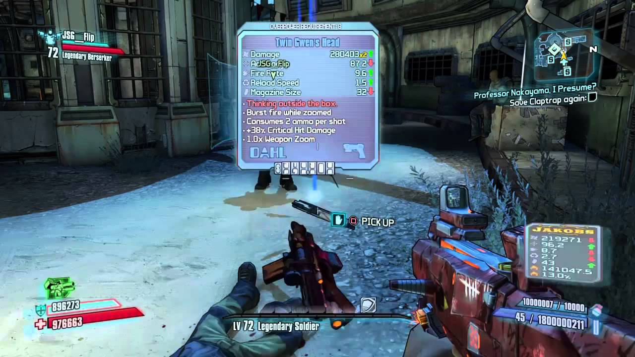 Borderlands 2 unlimited backpack and money glitch - YouTube Borderlands 2 Max Backpack