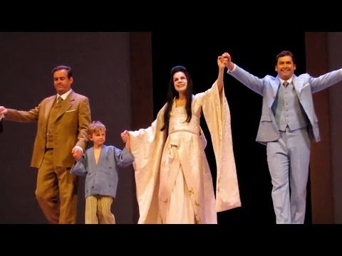 MADAMA BUTTERFLY - Royal Opera House (London) - Curtain Call - Apr. 20, 2017