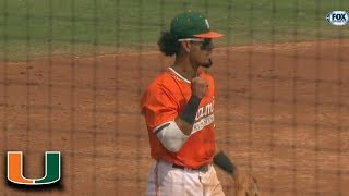 Miami's Freddy Zamora Throws Out Base Stealer At Home