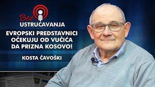 Kosta Čavoški - Evropski predstavnici očekuju od Vučića da prizna Kosovo!