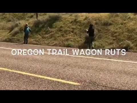 Oregon Trail Wagon Ruts