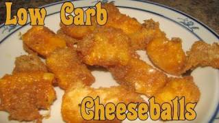 Atkins Diet Recipes: Low Carb Fried Cheese Balls (IF)