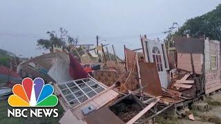 Hurricane Elsa Hits Barbados