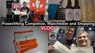 Powerlifting Competition, Tattooed Tea Party, Manchester, Trafford Centre | VLOG