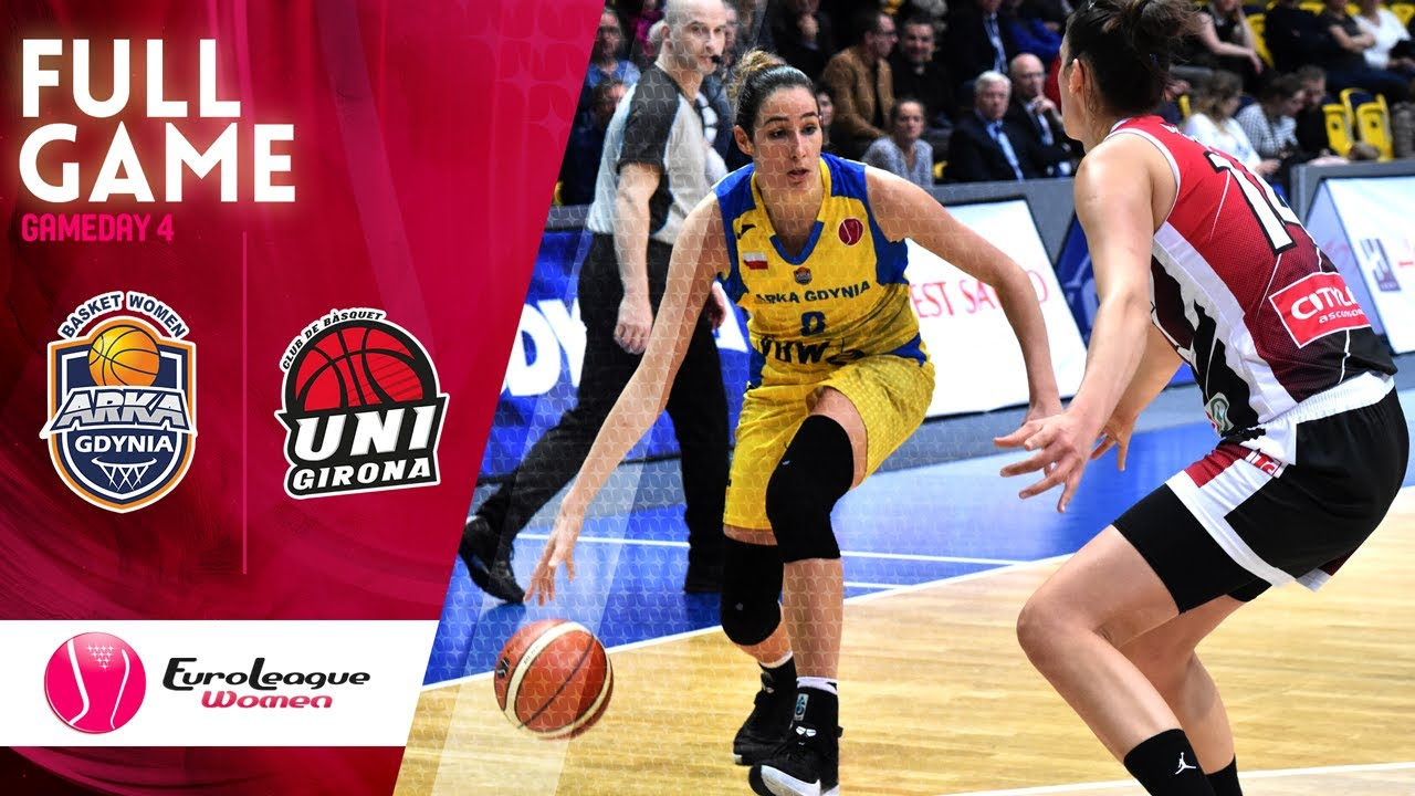 Arka Gdynia v Spar Citylift Girona - Full Game - EuroLeague Women 2019